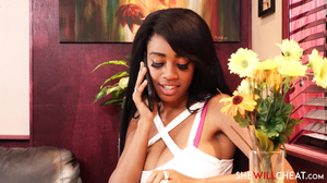 Brittney White - Lonely Black hot wife cheats on husband with the waiter